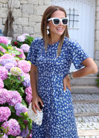 mavi-citir-yirtmacli-elbise