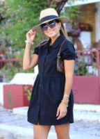 Elb1377x.jpg-siyah-kolu-buzgu-detay-gomlek-elbise-ELB1377