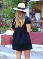 Elb1377xxx.jpg-siyah-kolu-buzgu-detay-gomlek-elbise-ELB1377