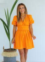 ELB1387X.jpg-turuncu-beli-lastikli-kruvaze-elbise-ELB1387
